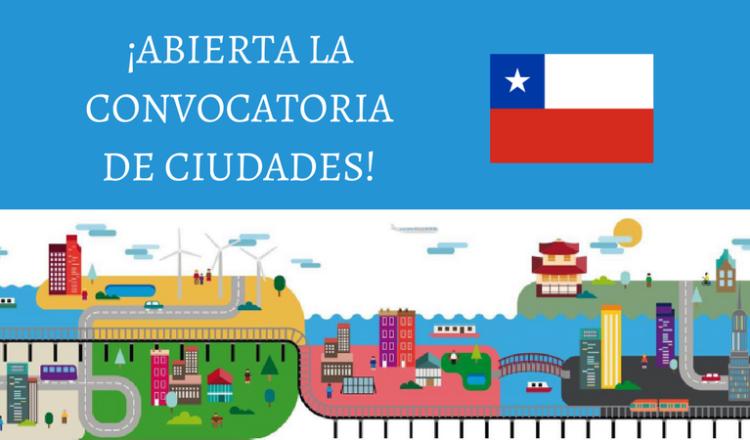 Aberta a Convocatória de Cidades chilenas para participar da cooperação entre cidades
