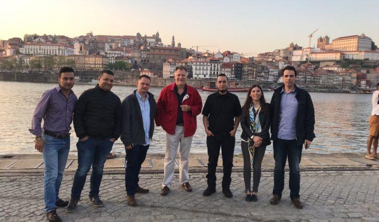 Pereira visita Porto, su socia europea en el Programa IUC