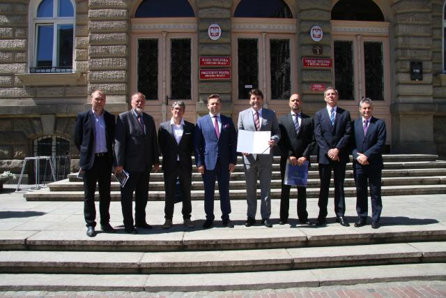 CIOESTE visits Bielsko Biala for first meeting at regional level