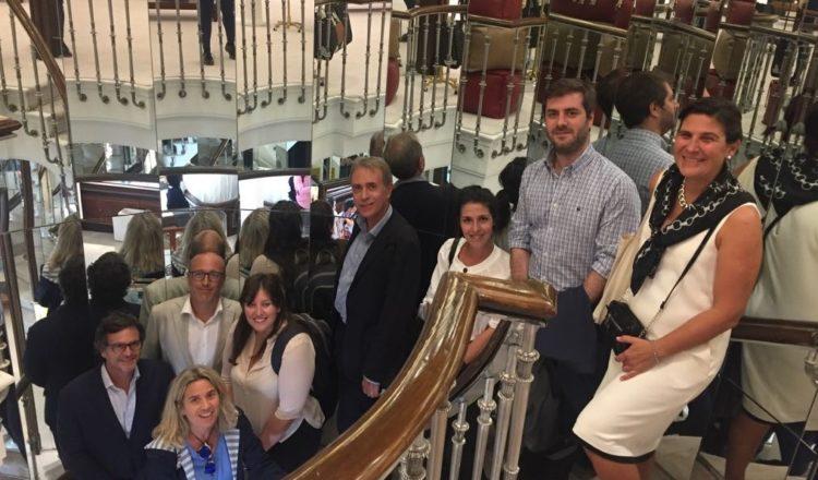Madrid recibe delegación de Buenos Aires para reforzar su cooperación internacional