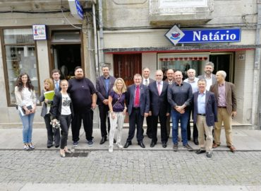Viana do Castelo recibe delegación de São Leopoldo para reforzar su cooperación internacional