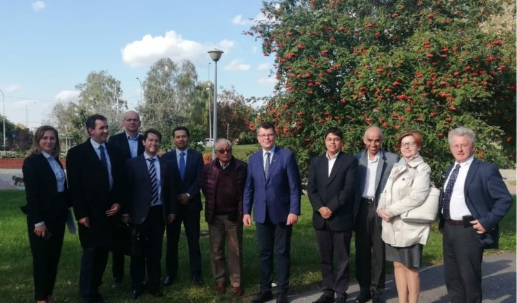 The Peruvian delegation of Arequipa  traveled to Poland within the framework of the IUC cooperation program of the European Union