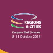 IUC-LAC participa da Semana Europeia de Regiões e Cidades em Bruxelas