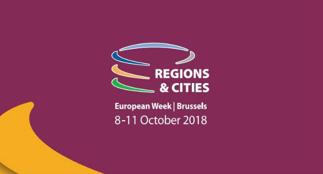 IUC-LAC participa de la Semana Europea de Regiones y Ciudades en Bruselas
