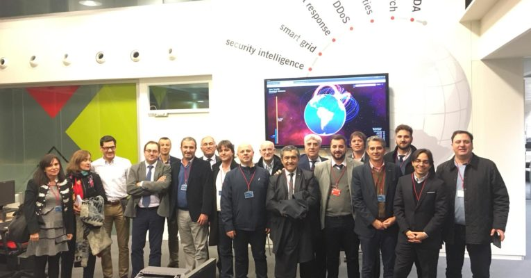Delegação da província de Córdoba, chefiada por Schiaretti, viajou para Castilla e León para trabalhar em inovação e competitividade