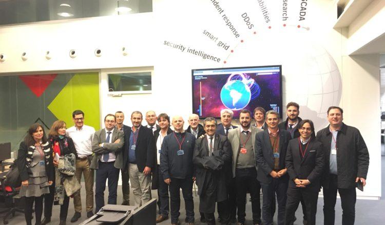 Delegación de la provincia de Córdoba, encabezada por Schiaretti, viajó a Castilla y León para trabajar en innovación y competitividad