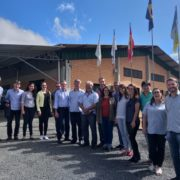 Representatives of Alba Iulia (Romania) visited Benedito Novo (Brazil) to work on sustainable urban development