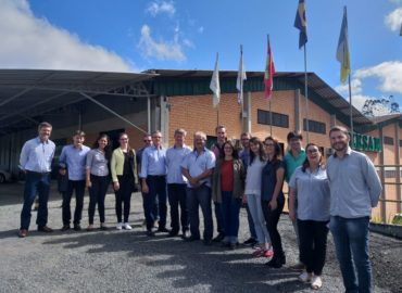 Representatives of Alba Iulia (Romania) visited Benedito Novo (Brazil) to work on sustainable urban development