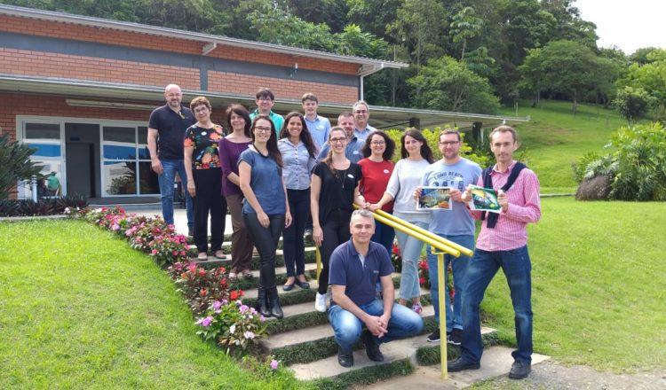 Representantes de Alba Iulia (Rumanía) visitaron Benedito Novo (Brasil) para trabajar en desarrollo urbano sostenible