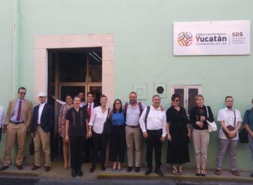 Yucatán (México), anfitrión del Programa de Cooperación IUC de la Unión Europea recibe a representantes de la ciudad de Ljubjana (Eslovenia)
