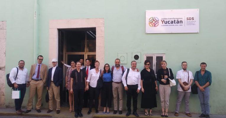 Yucatán, host of the IUC Cooperation Program of the European Union receives representatives of the city of Ljubjana (Slovenia)