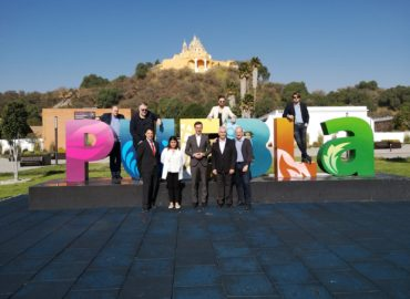 Meetings of the EU's urban cooperation project the Automotive Industry of Puebla through its methods and training models