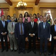 A delegation from Larissa visited Miraflores to analyze how to improve the district