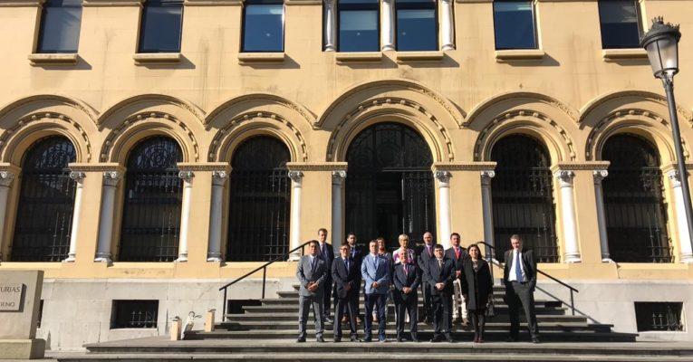 Delegación de Tarapacá visita Asturias para intercambiar mejores prácticas y lograr mejorar su territorio