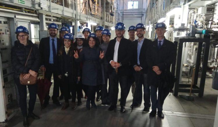 Representantes de Silesia reciben la delegación brasileña de Minas Gerais