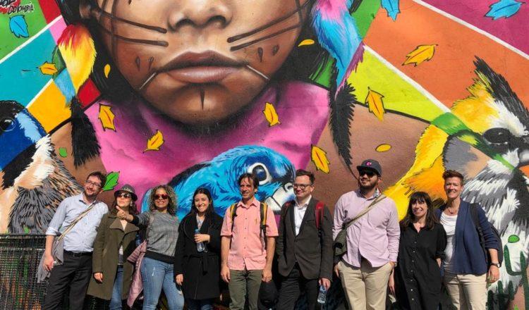 Delegação de Cali e Medellín visitam a cidade irlandesa de Belfast para conhecer estratégias eficientes de reconstrução e desenvolvimento em período pós-conflito