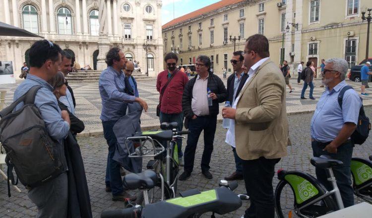Representantes da prefeitura de Belo Horizonte estiveram em Portugal para conhecer soluções de urbanismo e sustentabilidade da cidade de Almada