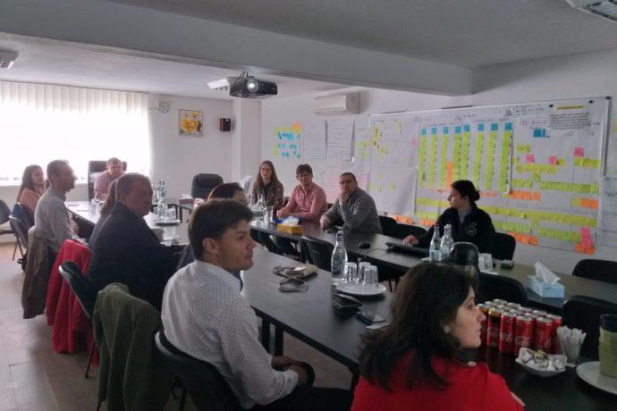 Benedito Novo y Alba Iulia continúan trabajando tras su participación en el programa IUC en los ejes de trabajo que identificaron