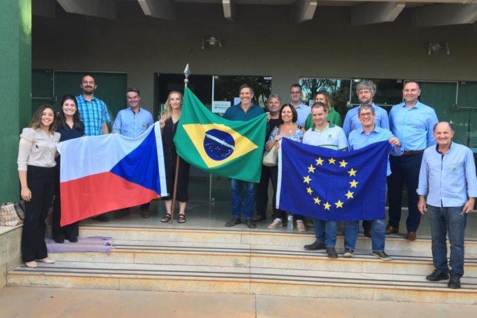DF recebe representantes de Bohemia do Sul para avançar no Programa Europeu de Desenvolvimento Urbano Sustentável