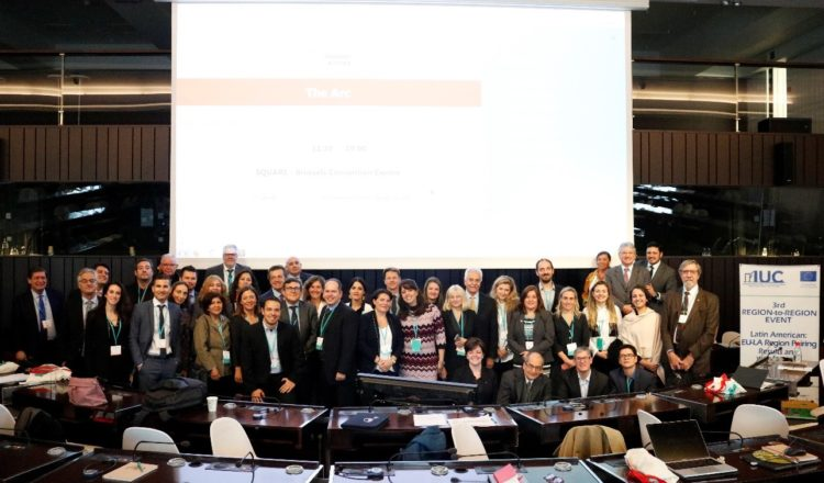 Representatives from 40 regions in Latin America and Europe presented the results of their cooperation under the IUC Program in Brussels