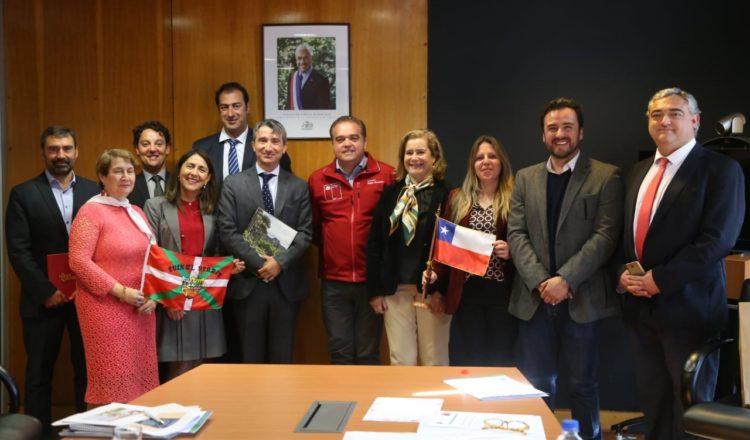 Delegação do País Vasco visita Bío-Bío para intercâmbio de conhecimentos em inovação e tecnologia sustentável no âmbito do programa da União Europeia