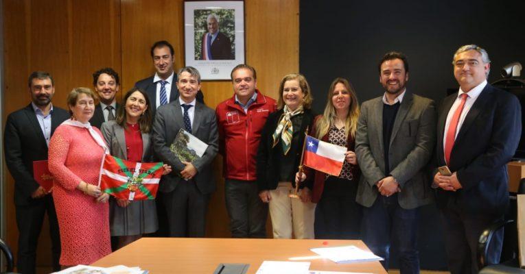 Delegación del País Vasco visita Bío Bío para intercambio de conocimientos en innovación y tecnología sostenible en el marco de programa de la Unión Europea