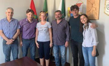 A delegação de Alba Iulia (Romênia) visitou Benedito Novo para realizar estratégias de Smart Cities