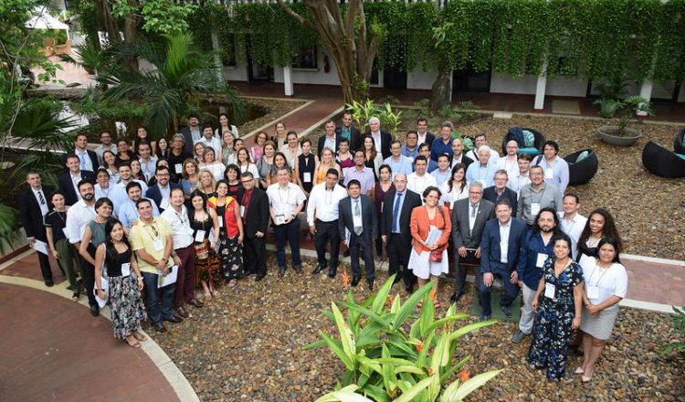 Altos representantes políticos de Latinoamérica se reunieron en Cartagena para debatir sobre financiación climática