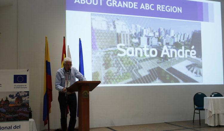 Los municipios de Río Grande, São Leopoldo y Cali, y el Consorcio Intermunicipal de ABC lideran taller regional de financiación climática con la presentación de sus casos de éxito