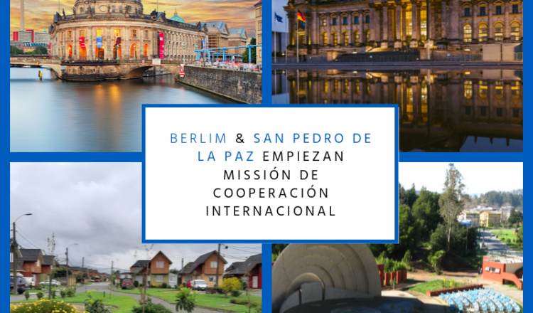 Delegación de San Pedro de la Paz visita Alemania para conocer sistemas de gestión residuos