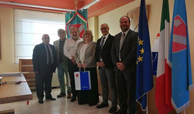 Delegação de O'Higgins visita a Itália para intercâmbio de iniciativas sustentáveis no âmbito do programa da União Europeia
