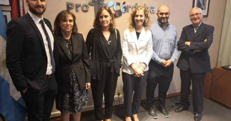 Una delegación de Córdoba recibió la visita de Castilla y León (España) para trabajar temas de interés común como automoción, agro, salud o turismo