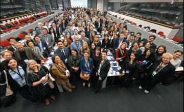 Mais de 200 representantes de governos locais de todo o mundo se reúnem em Bruxelas para compartilhar sobre o progresso no desenvolvimento urbano sustentável