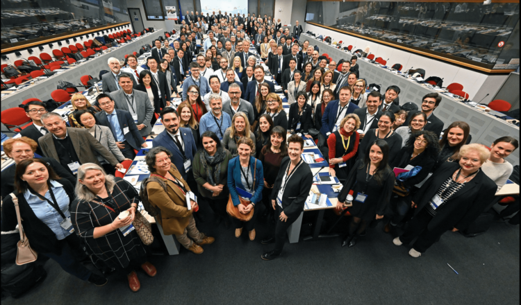 More than 200 representatives of local governments from around the world gather in Brussels to share about progress in sustainable urban development
