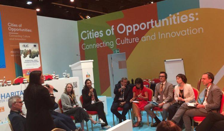 Ciudades latinoamericanas del Programa Internacional de Cooperación Urbana (IUC-LAC) presentaron sus resultados en el X Foro Urbano Mundial, que se celebró en Abu Dabi