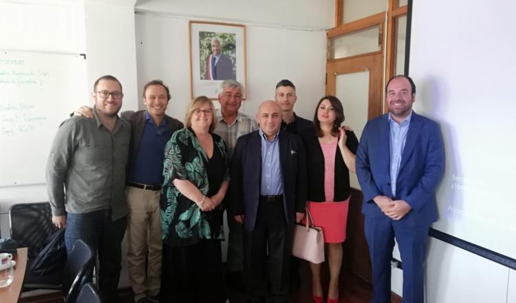 Una delegación de la región de Molise (Italia) visitó O'Higgins para conocer sus principales estrategias productivas