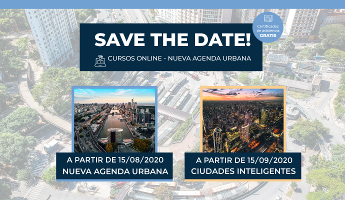 IUC-LAC ofrece cursos gratuitos sobre Nueva Agenda Urbana y Ciudades Inteligentes