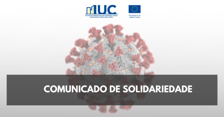 IUC-LAC se solidariza às vítimas da Covid-19 e reforça importância de esforços coletivos para superar a crise