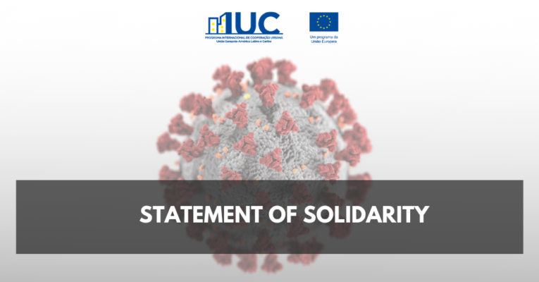 IUC-LAC shows solidarity with the victims of Covid-19 and reinforces the importance of collective efforts to overcome the crisis